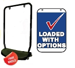 Single Sided Swing Sign Kit - LOADED WITH OPTIONS