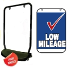 Double Sided Swing Sign Kit - LOW MILEAGE