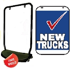 Double Sided Swing Sign Kit - NEW TRUCKS