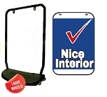 Double Sided Swing Sign Kit - NICE INTERIOR