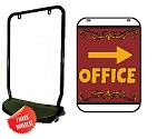 Swing Sign Kit - OFFICE Right Arrow