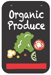 Swing Sign Replacement Single Sided Sign - ORGANIC PRODUCE
