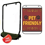 Single Sided Swing Sign Kit - PET FRIENDLY