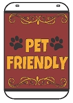 Swing Sign Replacement Single Sided Sign - PET FRIENDLY