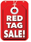 Swing Sign Replacement Single Sided Sign - RED TAG SALE!