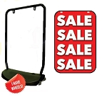 Single Sided Swing Sign Kit - SALE
