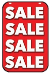 Swing Sign Replacement Single Sided Sign - SALE
