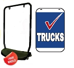 Double Sided Swing Sign Kit - TRUCKS