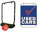 Single Sided Swing Sign Kit - USED CARS