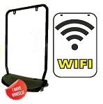Single Sided Swing Sign Kit - WIFI