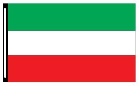 3 X 5 Green White Red 3 Stripe Horizontal Flag Jb Forms