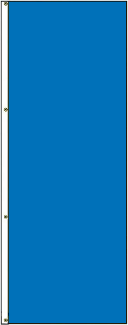 5' x 3' Solid Color French Blue Vertical Nylon Flag