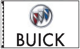 3' x 5' Buick Dealer Flag