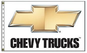 2.5' x 3.5' Chevy Trucks Flag