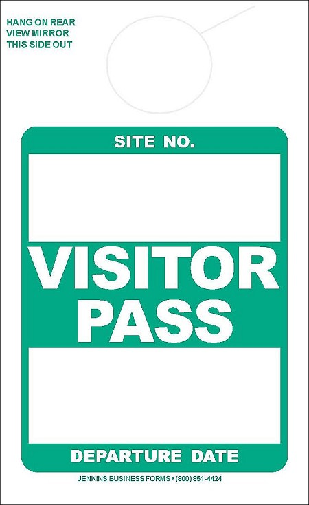Green Visitor Pass