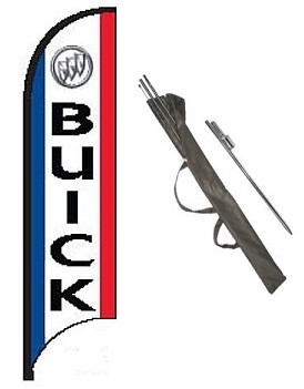 Buick Dealer Feather Flag Kit