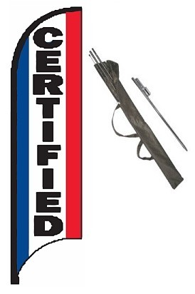 Certified Feather Flag Kit
