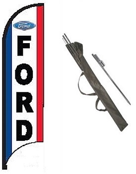 Ford Dealer Feather Flag Kit