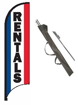 Rentals Feather Flag Kit