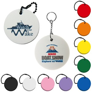 Circle Floating Key Tag