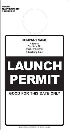 Black Launch Permit