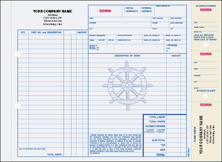 MRO-636 Marine Repair Order (Carbon Interleaved)