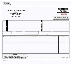 POCC-704 2-Part Purchase Order