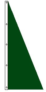 8' x 3' Dartmouth Green Sail Flag
