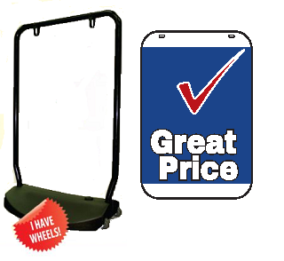 Double Sided Swing Sign Kit - GREAT PRICE
