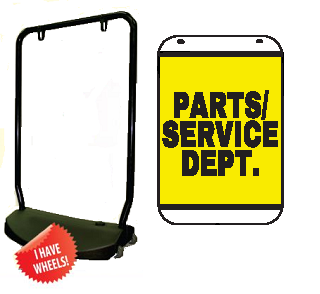 Single Sided Swing Sign Kit - PARTS/SERVICE