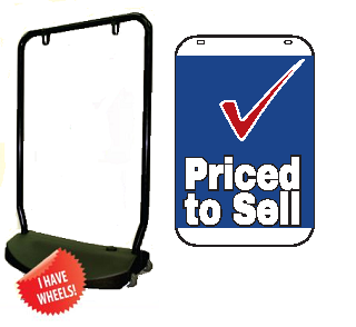 Double Sided Swing Sign Kit - PRICED TO SELL