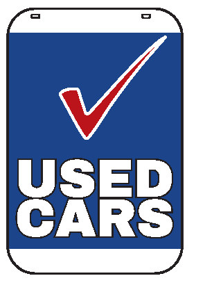 Swing Sign Replacement Single Sided Sign - USED CARS